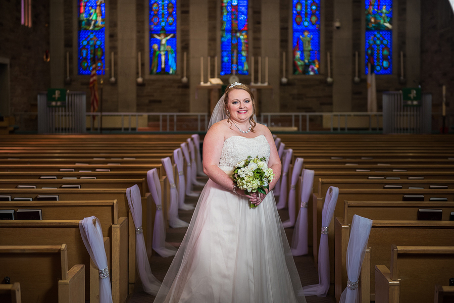 Trinity Lutheran Bloomington IL Wedding