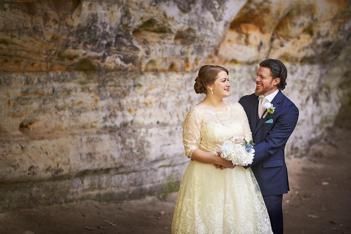 Starved Rock Wedding | Oglesby Illinois