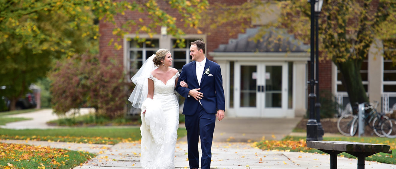 Illinois Wesleyan Memorial Center Wedding