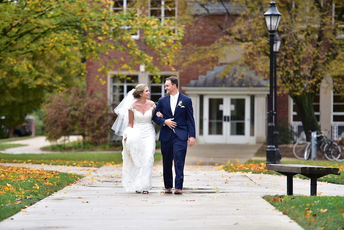 Illinois Wesleyan Wedding Photos