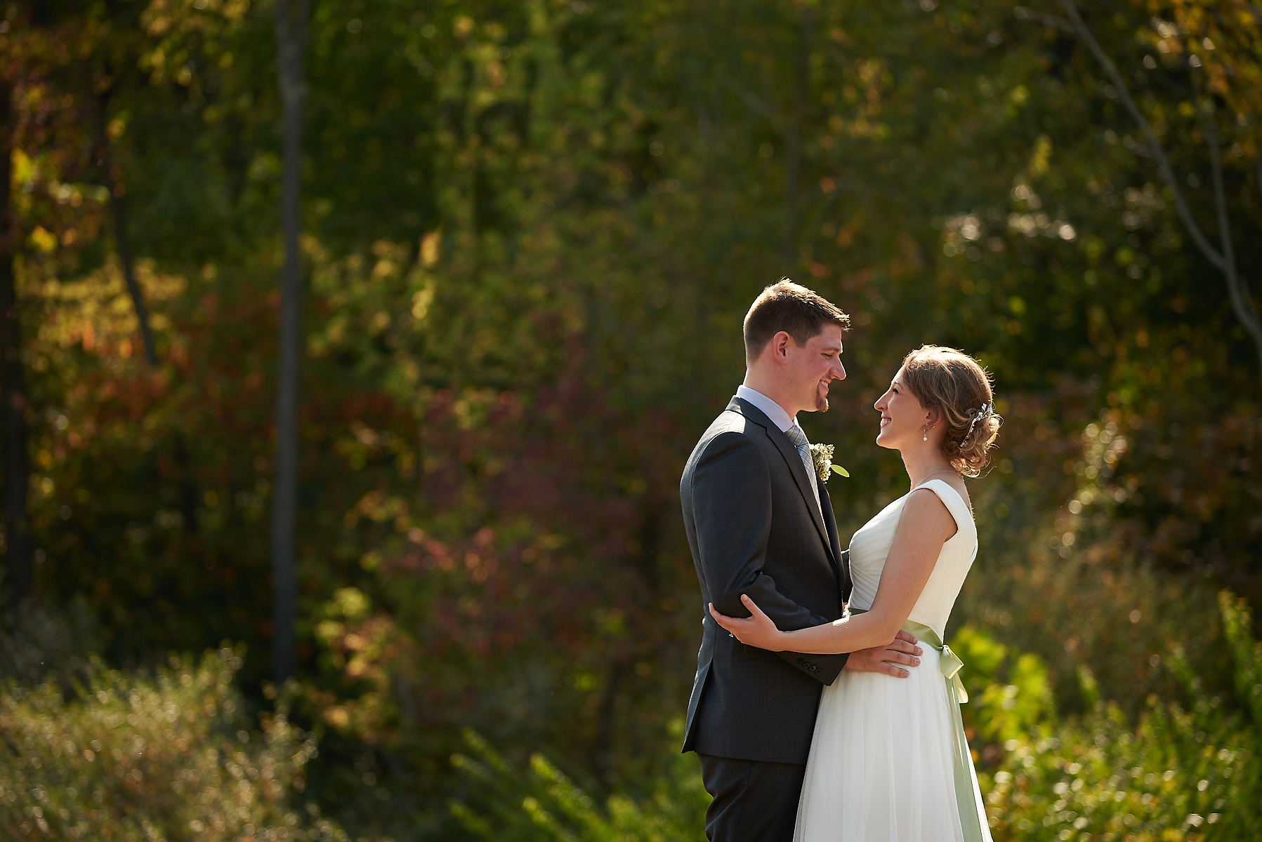 Wildlife Prairie Park Wedding Photos Hannah City IL