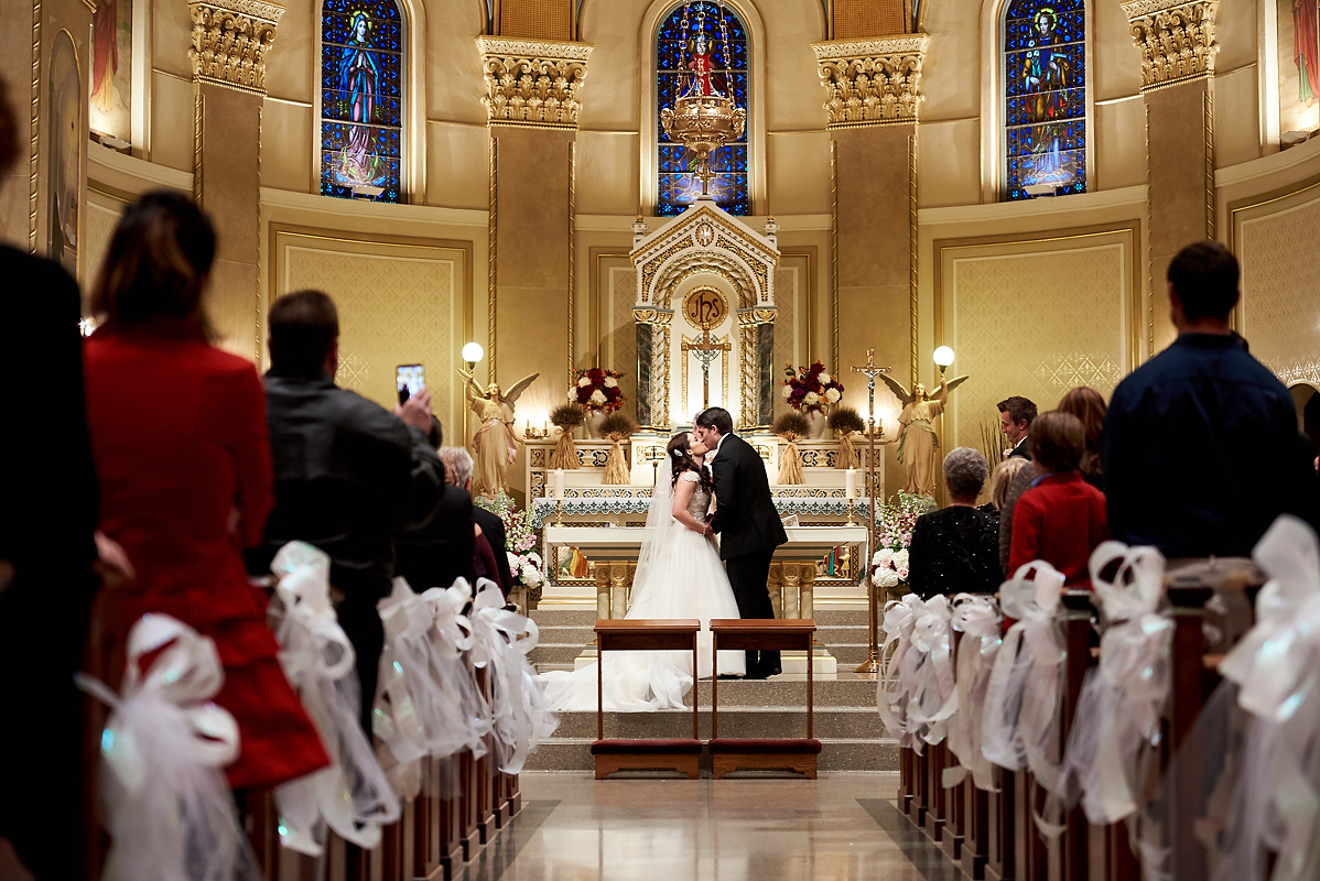 Saint Cyril Church Wedding | Lemont, IL