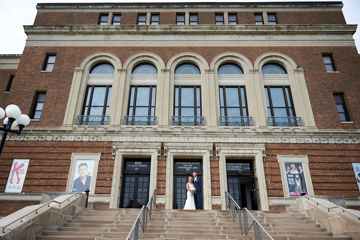 Bloomington Center for the Performing Arts Wedding | Bloomington IL