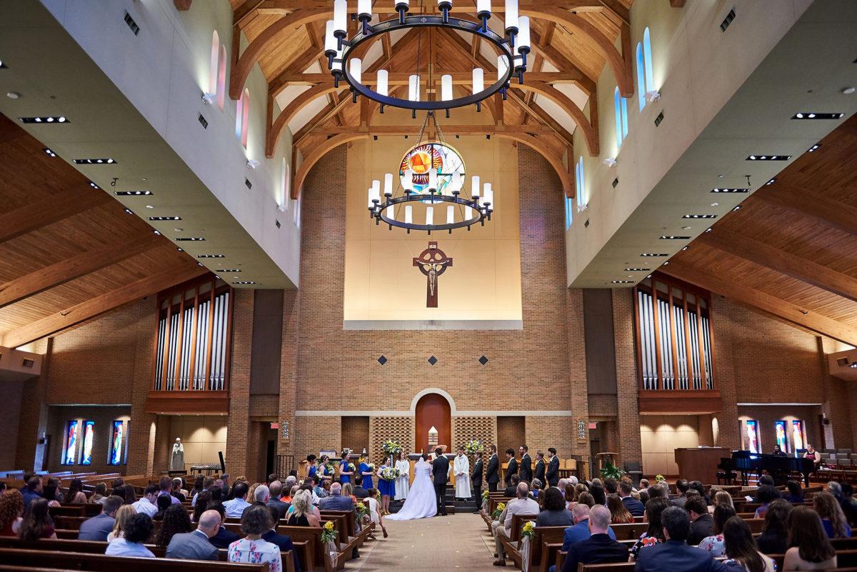 St Patrick of Merna Catholic Church Wedding Bloomington IL