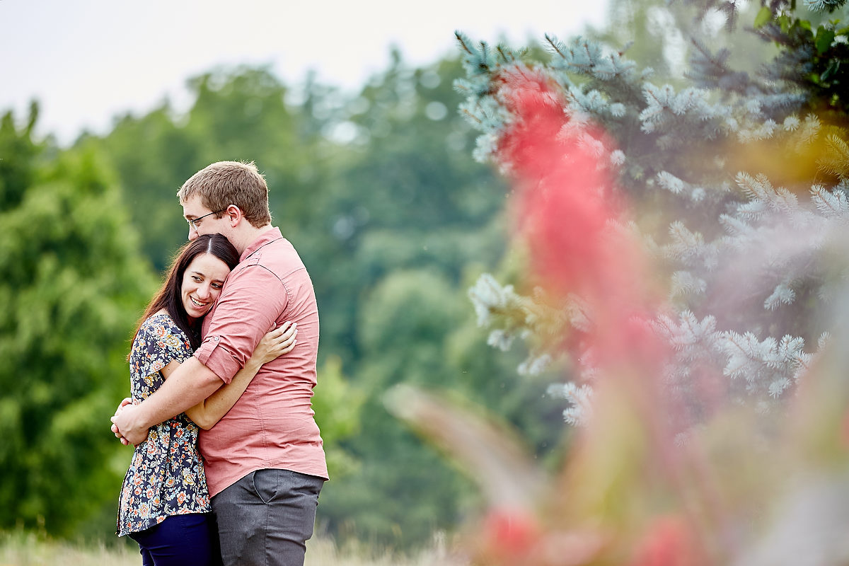 Lake Bloomington Wedding Engagement Photos