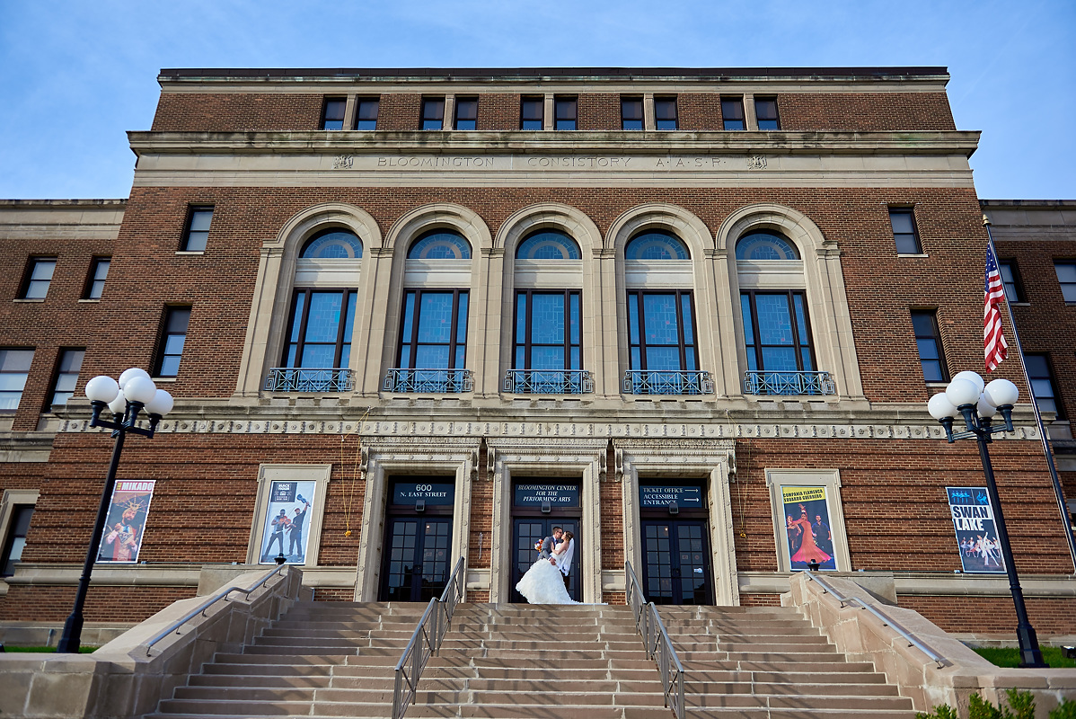 Bloomington Center for Performing Arts Wedding
